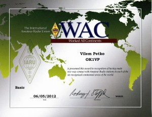 WAC diploma